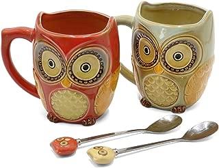 Best ceramic owl mug Reviews