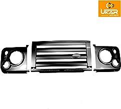 Land Rover Defender Gloss Black SVX Style Front Grille & Headlamp Surround Kit