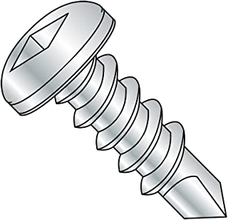 2-1//2 Length Steel Self-Drilling Screw 1//4-14 Thread Size 1//4-14 Thread Size 2-1//2 Length Small Parts 1440KPO Phillips Drive Pack of 25 Pack of 25 Zinc Plated Finish #3 Drill Point 82 Degree Oval Head