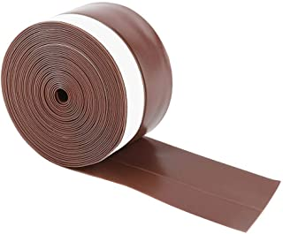 Yasashi Sealing Strip, 5M 45mm Self-Adhesive Door Window Wind Insect Dust Prevention Sealing Strip(Brown)