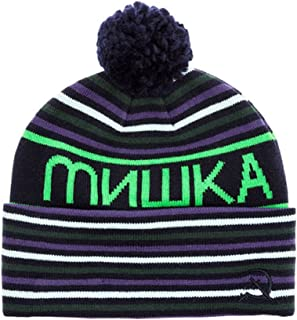 85da29c3f25 Mishka Mens The Heatseeker Pom Beanie Hat