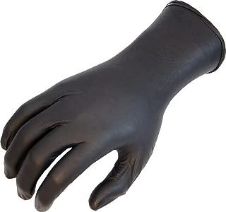 SHOWA N-Dex 7700PFT Accelerator-free Disposable Nitrile Glove, Powder Free, Medium (Pack of 50)
