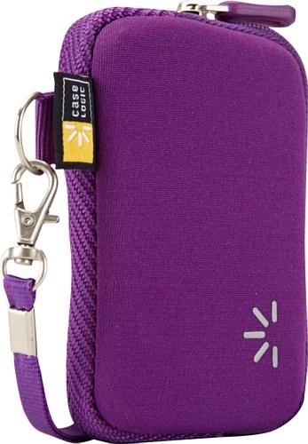 Hülle Logic UNZB202P Neoprene Pocket S Kameratasche (mit Handgelenksschlaufe) violett