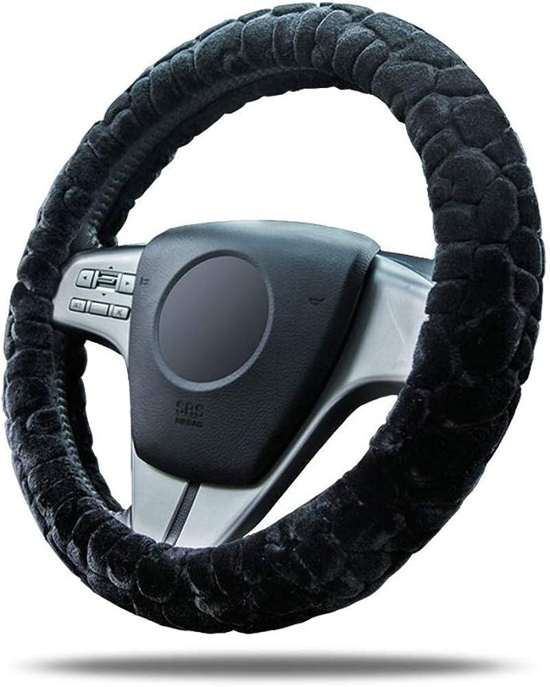 Ersanc Fluffy Denver Mall Steering Wheel Cover Accessories Plush for Finally resale start Women