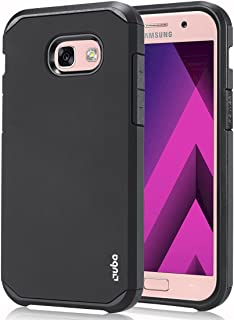 Ouba Galaxy A5 2017 Case, OUBA [Armor Series] [Anti-Drop] Hybrid Defender Dual Layer Shockproof Rugged Premium Protective Case Cover for Samsung Galaxy A5 2017 - Black