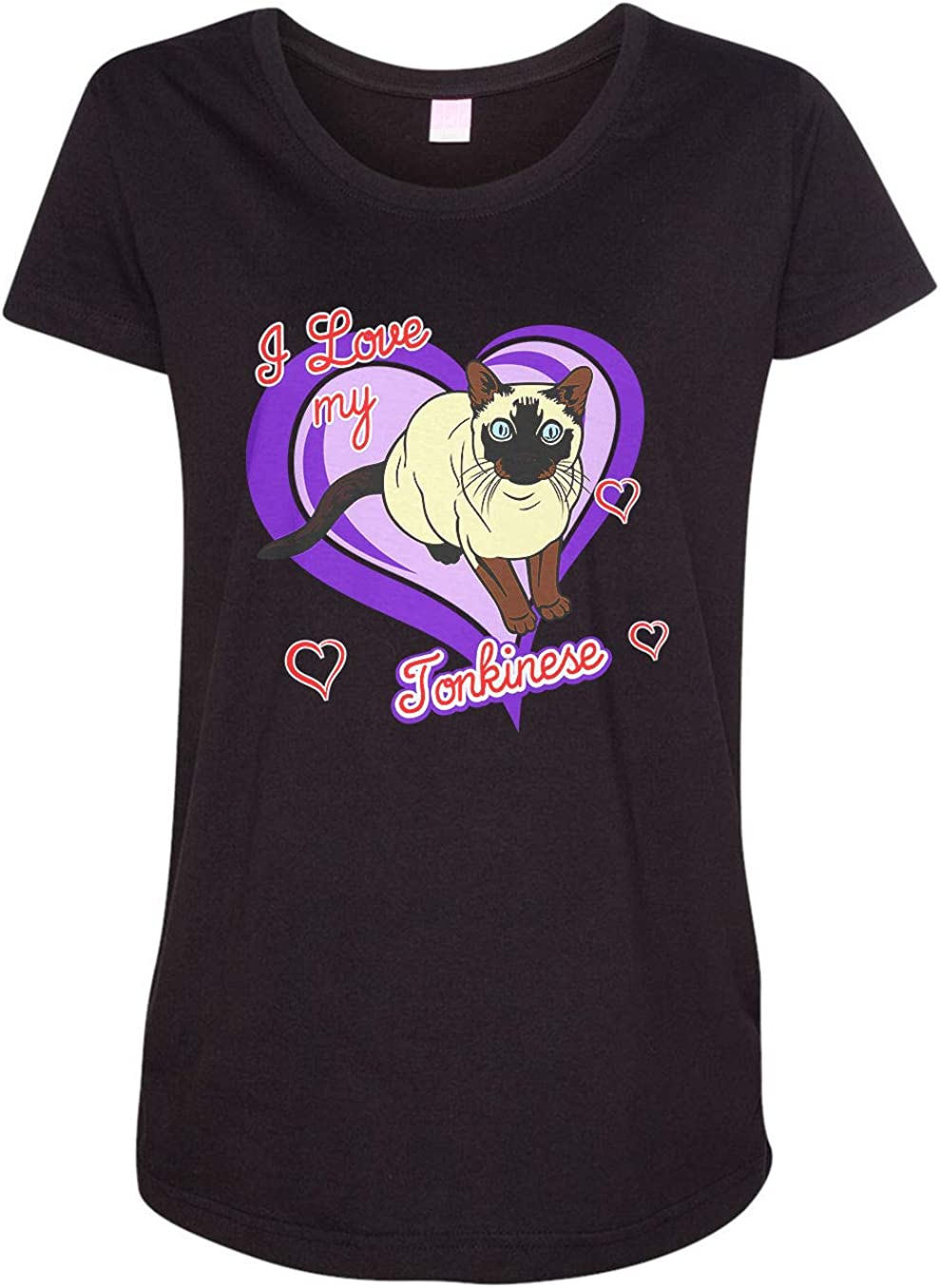 HARD EDGE DESIGN Women's Tonkinese Cat T-Shirt