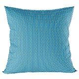 federa cuscino 40 x 40 bimbo - Federe Cotone Bambino, decorativo per la cameretta dei bambini, con cerniera Blu