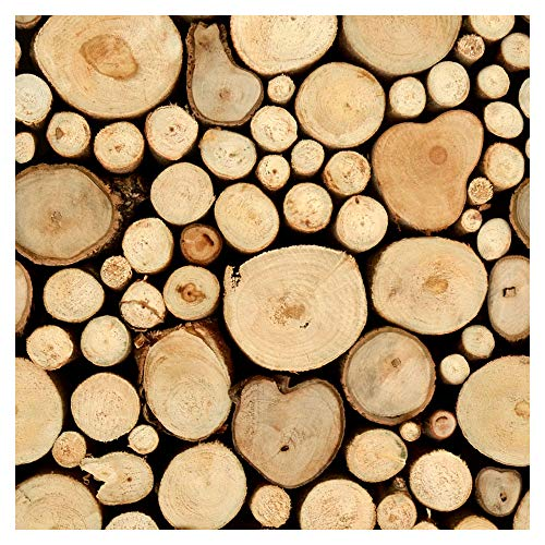 *murando – Tapete selbstklebend 10m Wandtattoo dekorative Möbelfolie Dekorfolie Fotofolie Panel Wandaufkleber Wandposter Wandsticker – Holz 1602-8*
