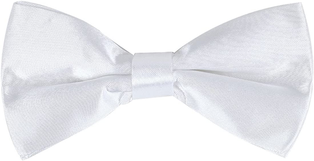 Dan Smith Men's Fashion Available Checkered Pre-tied Bowtie With Box