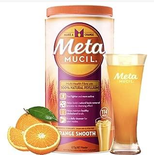 Metamucil Daily Fibre Supplement Smooth Orange 114 Doses