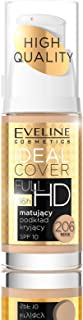 Eveline IDEAL COVER FULL HD MATT AND COVERING FOUNDATION NO 206 BEIGE 30ML