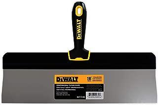DEWALT 16-Inch Big Back Taping Knife   Stainless Steel w/Soft Grip Handle