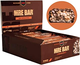 Redcon1 MRE Bar - Meal Replacement Bar (1 Box / 12 Bars) - Crunchy Peanut Butter Cup - Animal Based Protein, 20G Protein, ...