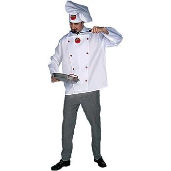 Disfraz cocinero adulto. Talla 50/52.: Amazon.es: Juguetes y juegos