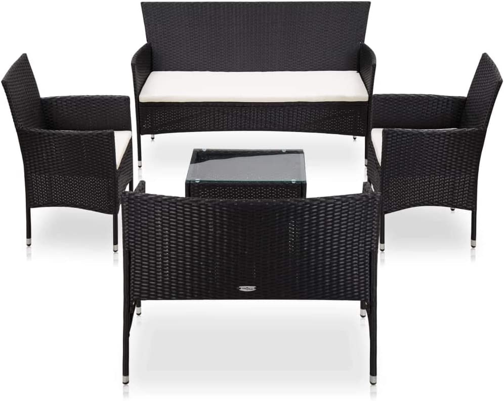 【Fast Shipments】 Garden Ranking TOP15 Lounge Set Furniture Outdoor for Bac Los Angeles Mall