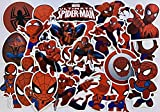 Pegatina Spiderman Pegatinas de Vinilo Paquete de Pegatinas para Laptop Skateboard Equipaje Calcomanía Graffiti Parches Pegatinas a granel (35PCS)