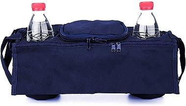 N/D Mokinga Bolso Bugaboo, Bolsa Carrito Bebe, Bolsa Colgante De Tela para Cochecito De Bebé, Utilizada para Almacenar Juguetes, Teléfonos Móviles y Otras Botellas De Bebé (Color: Azul Marino)