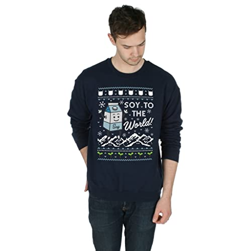 df58564d Sanfran - Soy to The World Christmas Ugly Xmas Vegan Lactose Food Funny  Jumper Sweater