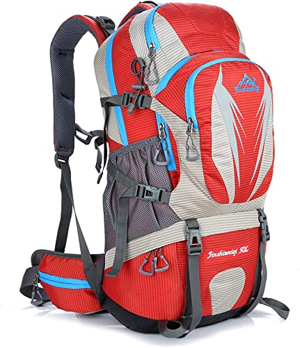 Trekking Nouveau Mountaineesacue sac à dos 45L Sac à Dos Plein Air Sac à Dos De Camping Décontracté Camping Sport sac à doser