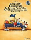Europaische Klavierschule 1 + CD Piano +CD