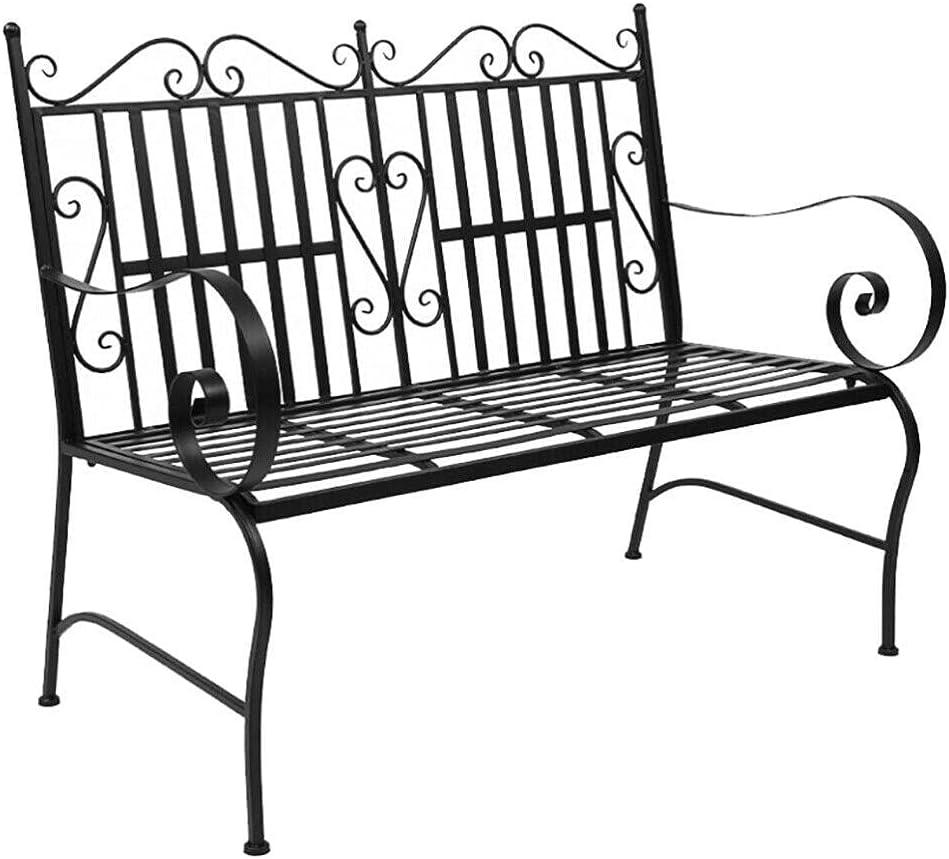 2 supreme 5 ☆ very popular Person Patio Furniture 44.5 inch Garden Outdoor Bench