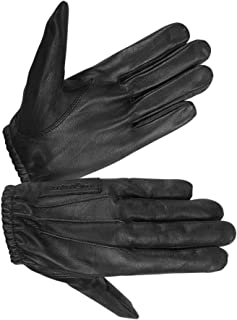 Ladies Unlined Water Resistant Leather Glove for Driving and Police
