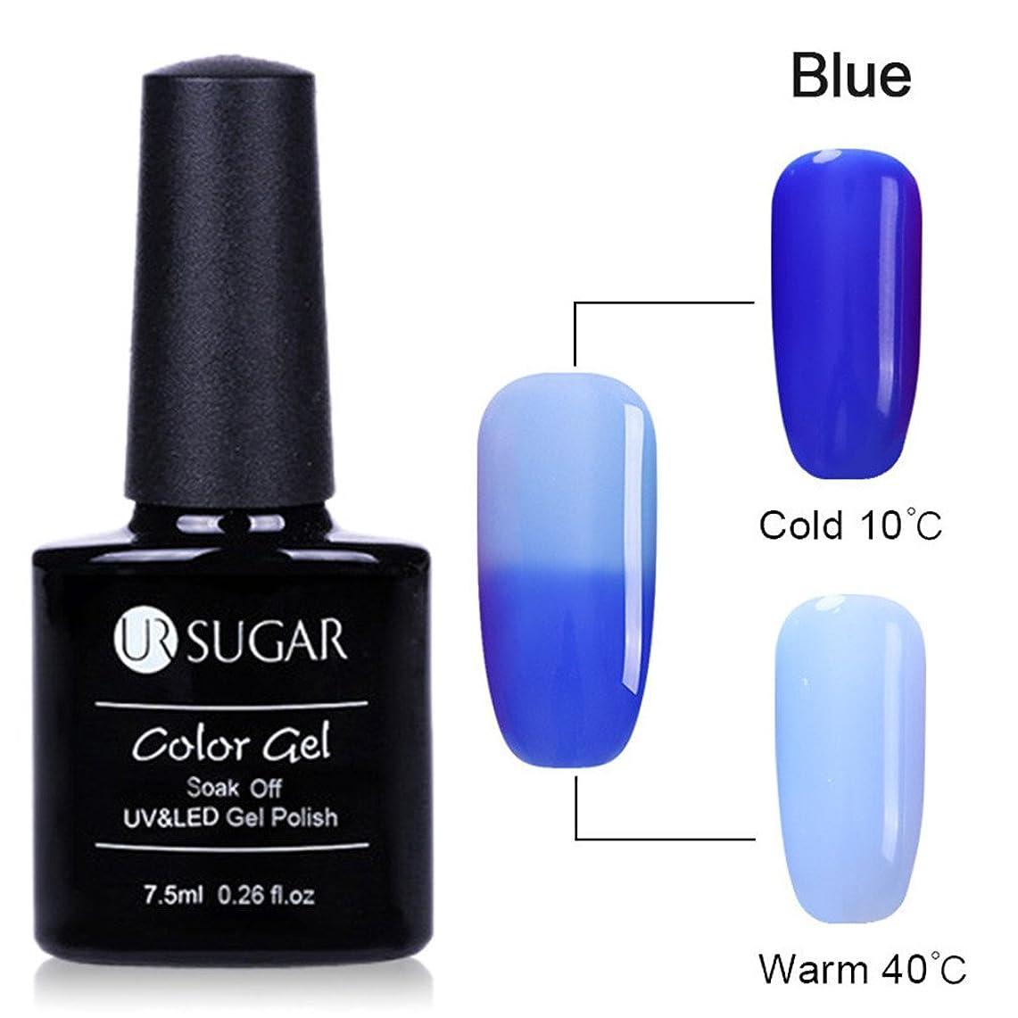 ふつう学者延ばすUR SUGAR トップコート トップコートジェル 温度により色が変化 カメレオンジェル カラージェル UV/LED対応 透明感 変色ジェルネイル ジェルネイル ピカピカ 艶々度UP 全6色選択可 [並行輸入品]