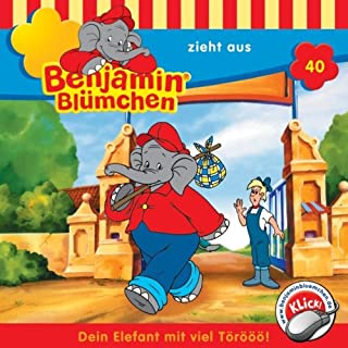 Benjamin zieht aus audiobook cover art