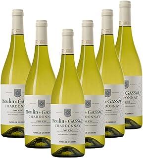 Moulin de Gassac Chardonnay, White Wine, 750ml (Case of 6)
