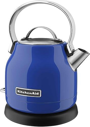 new arrival KitchenAid outlet online sale discount KEK1222TB Electric Kettle, 1.25 L, Twilight Blue (Renewed) online