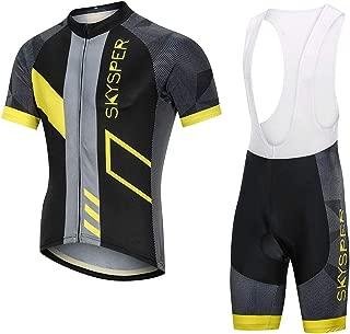 3D Gel Coussin Pantalons Hiver Automne Printemps Homme VTT V/élo Cyclisme V/êtements//Combinaison Cycliste STEPANZU Maillot Cyslisme Manches Longues