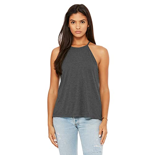 d85741f8bfa02 Bella + Canvas - Women's Flowy High Neck Tank - 8809