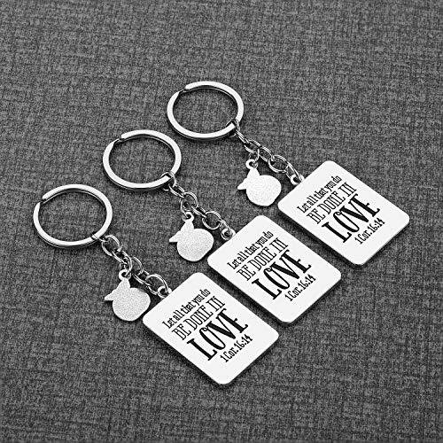 Teacher Gifts for Women - 3 Pack Teacher Keychain, Teacher Appreciation Gift, Thank You Gifts for Teacher, Christmas Valentine's Day Gifts for Teacher Photo #7