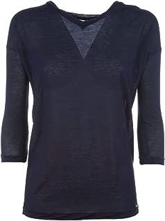 Luxury Fashion | Woolrich Womens WWTEE1109313 Blue T-Shirt | Season Permanent