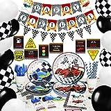 NAIWOXI Race Car Birthday Party Supplies - Race Car...