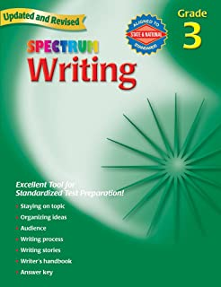 Spectrum Writing: Grade 3