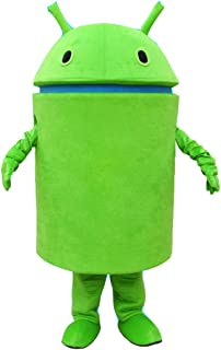 HYKJ Android Robot Mascot Costume Facny Dress