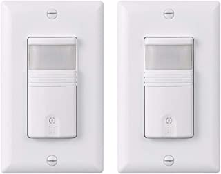 LIT-PaTH PIR Motion Sensor Light Switch Wall Switch for Indoor Use – Vacancy &