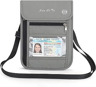 Haberi Premium Passport Wallet Neck Wallet Passport Holder for Travel with RFID Blocking - 2018 Collection