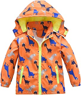 Baby Girls Boys Jacket Raincoat Toddler Hooded Windbreaker Zip Coat Newborn Kids Lightweight Outerwear