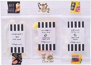 O'hagi【小動物たちのフード&おやつ】お試しセット3種 ハムスター、ハリネズミ、フクロモモンガ