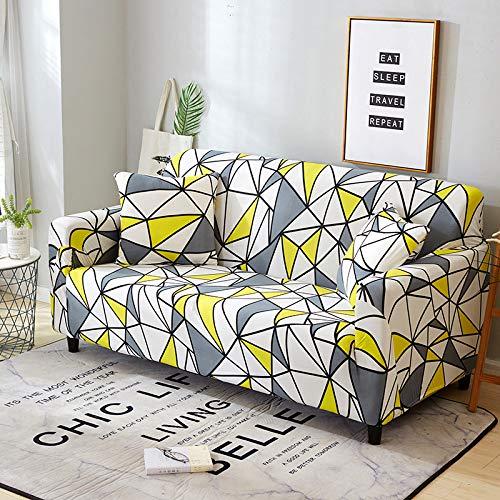 WXQY Funda de sofá elástica de Esquina en Forma de L Funda de sofá Modular Sala de Estar Todo Incluido sofá a Prueba de Polvo Toalla Funda de sofá A6 1 Plaza