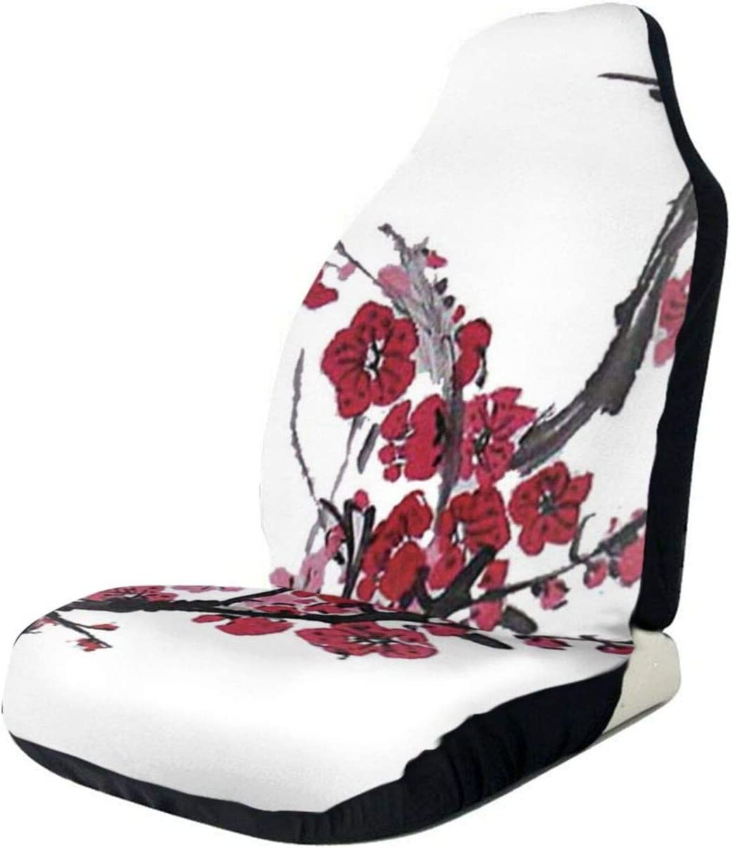 Vintage Flowers Outlet ☆ Free Shipping Grunge Car Seat Cover Seats Full Only Front Buck Sales for sale