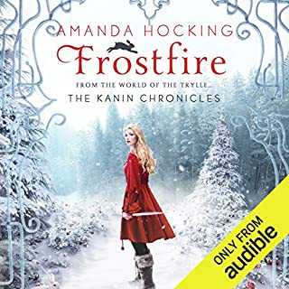 Frostfire audiobook cover art