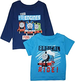 Nickelodeon Thomas & Friends Little Boys' Two-Pack Screen-Print Tops