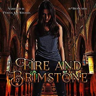 Fire and Brimstone: A Reverse Harem Paranormal Academy Romance cover art