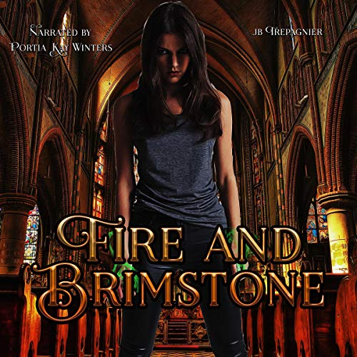 Fire and Brimstone: A Reverse Harem Paranormal Academy Romance audiobook cover art