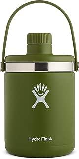 Hydro Flask Oasis Water Jug - Stainless Steel & Vacuum Insulated - Leak Proof Cap - 64 oz, Olive