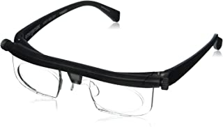 Adlens Adjustable Eyewear - Nearsighted - Farsighted - Eyewear For Men and Women - Eyeglasses - For Driving + Computer + Watching TV = Reading - Non Prescription Lenses - By Brandon Sciences