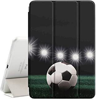 Graphic4You Soccer Football Sports Design Ultra Slim Case Smart Cover Stand [with Sleep / Wake Function] for Apple iPad Mini 4